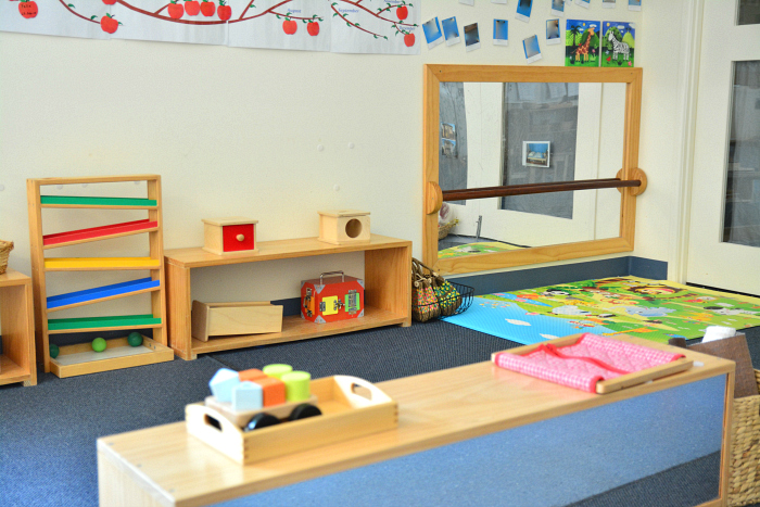 Montessori Infant Room at IMCH at HWM