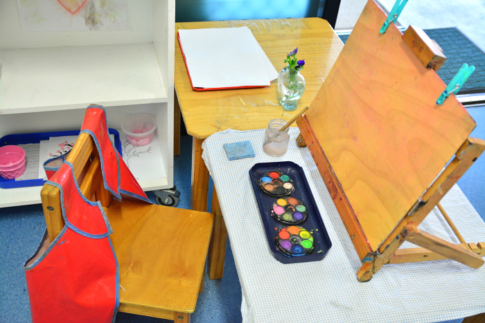 Art Scene from IMCH 3-5yr room at HWM