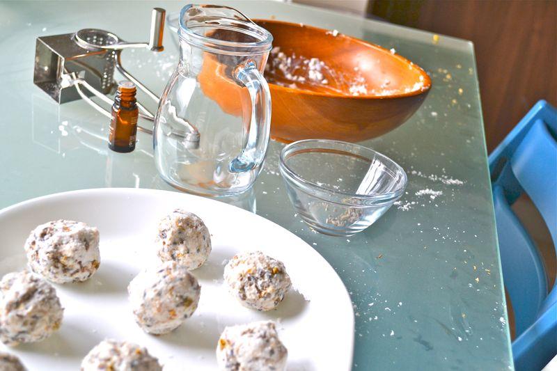 How we Montessori, Handmade Soap Balls