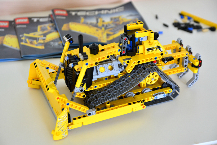 Lego technic at How we Montessori finished