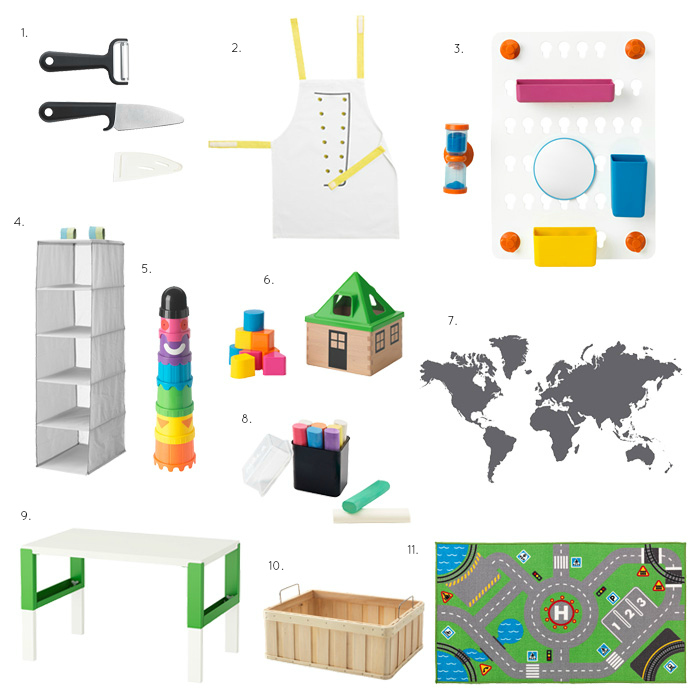 New Montessori Finds at Ikea 2017