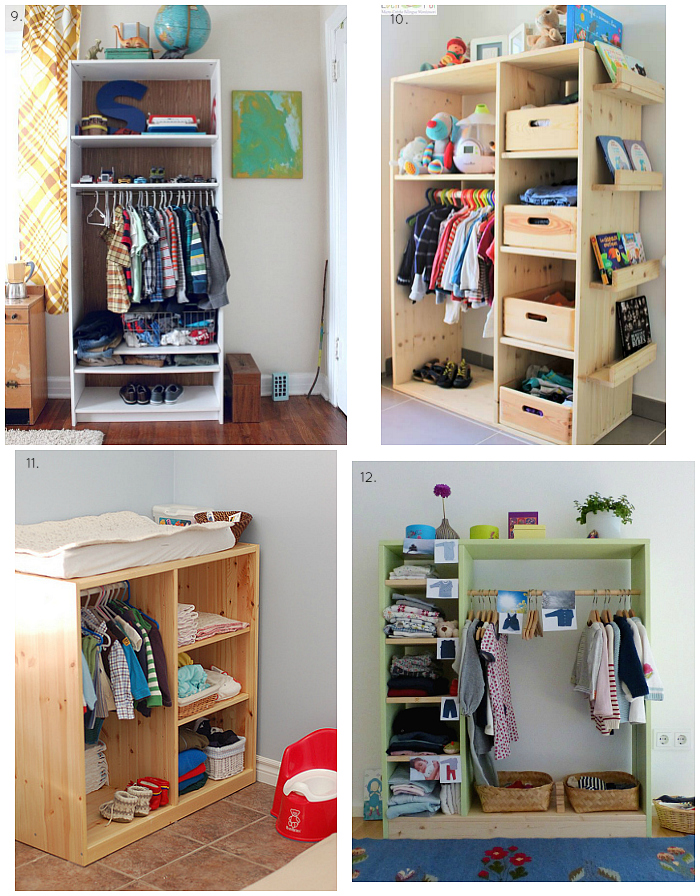 Montessori Wardrobe and Closet Ideas and Inspirations at How we Montessori