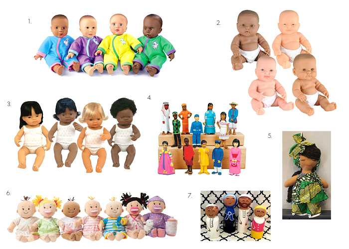 Multicultural Dolls at How we Montessori