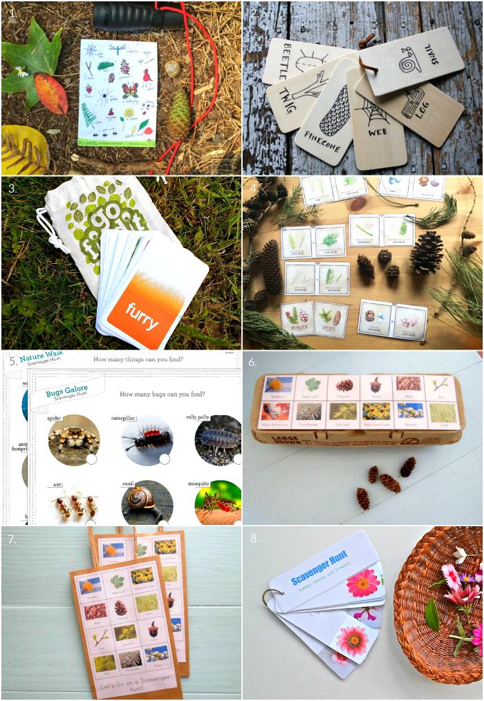 How we Montessori - Scavenger Hunt Ideas