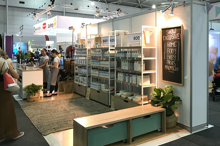 Ecostore at Brisbane Baby and Toddler Show 2017