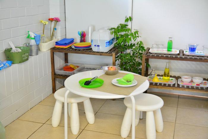 MELA activities Snack Table