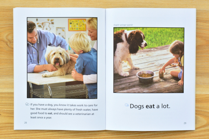 We Both Read  About Dogs at How we Montessori