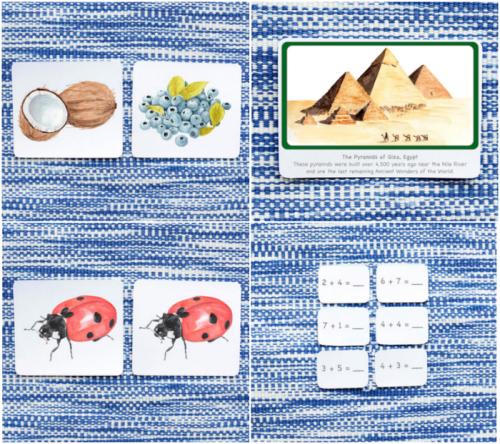 Cards at The Montessori Company at HWM