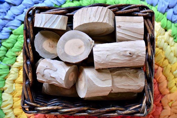 Natural Block at How we Montessori