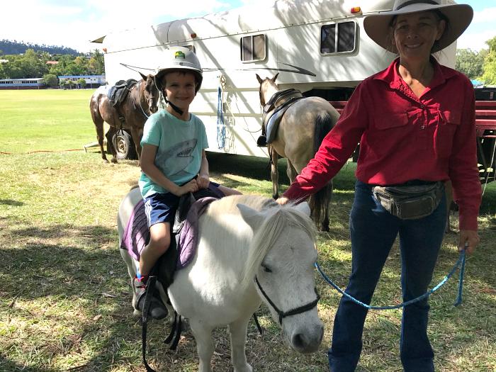 Otis horseriding  The Gap Farmers Market