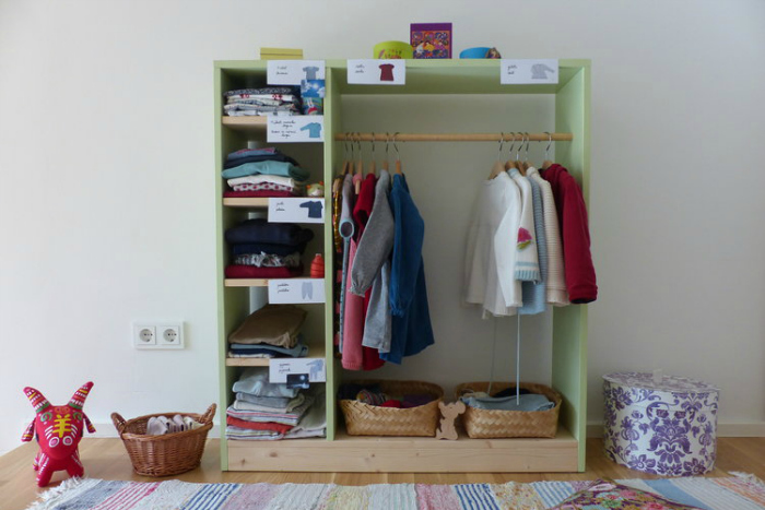 A Montessori Inspired Wardrobe at Mothers Abroad