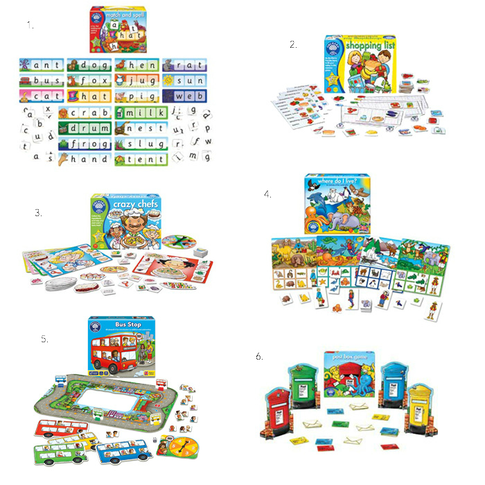 Orchard Educational Games at How we Montessori