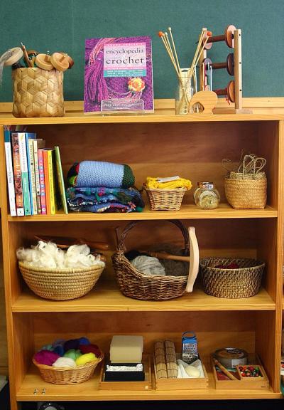 Montessori Handowork  Preparing the classroom for wool