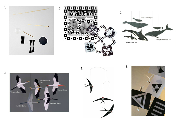 Montessori black and white mobiles for a newborn munari mobile at how we montessori