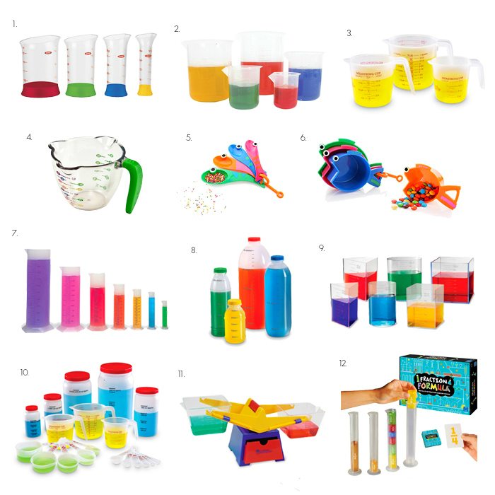 Learing Volume and Measurement of Liquids at How we Montessori  Measuring Montessori Practical Life