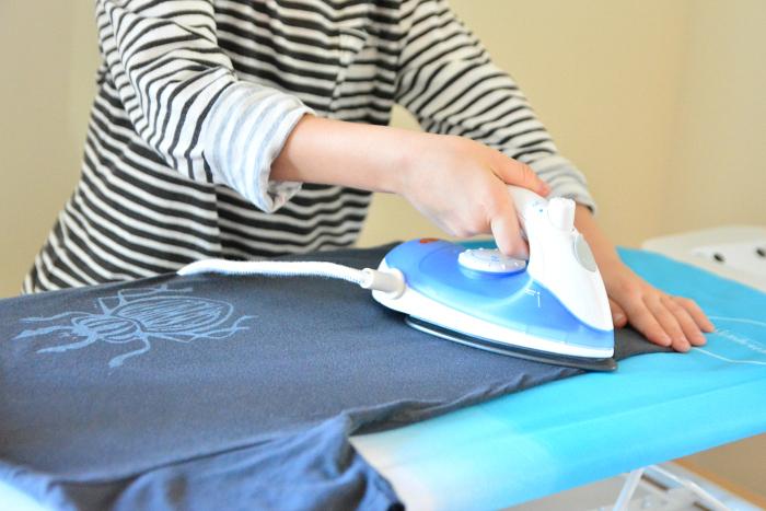 Otis ironing at HWM*