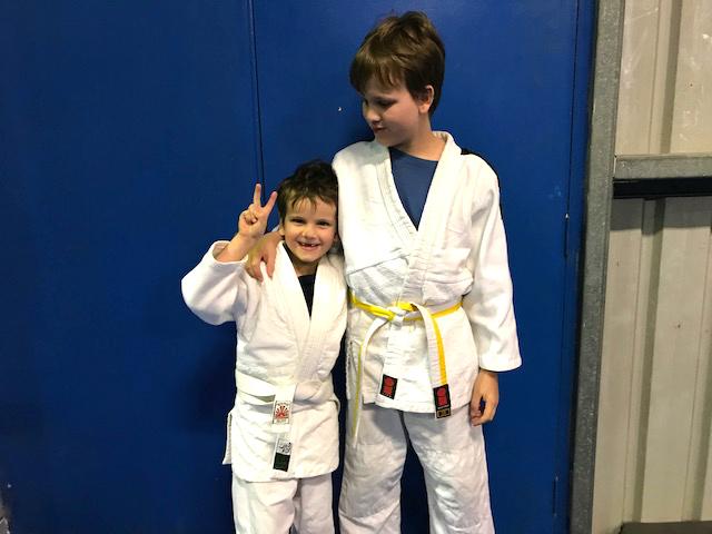 Judo Boys at HWM
