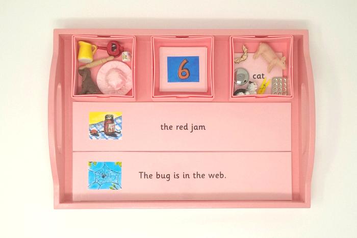 Pink Tray at Montessori Enterprises