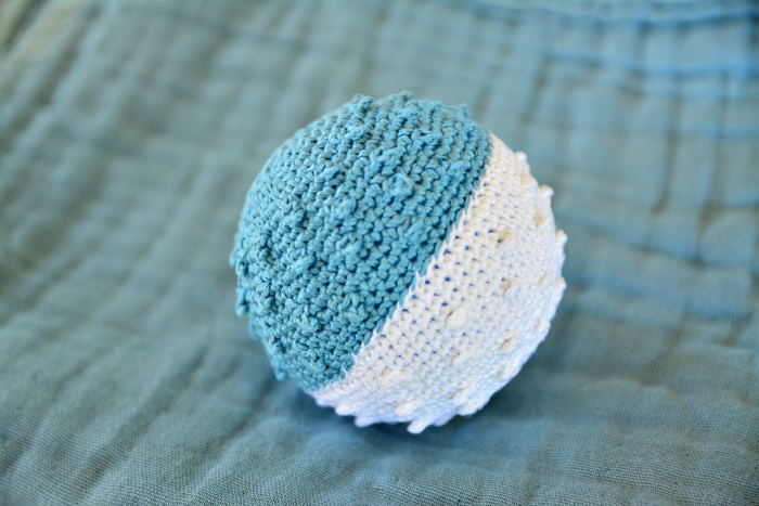 Tactile  sensory ball at How we Montessori  infant toy*