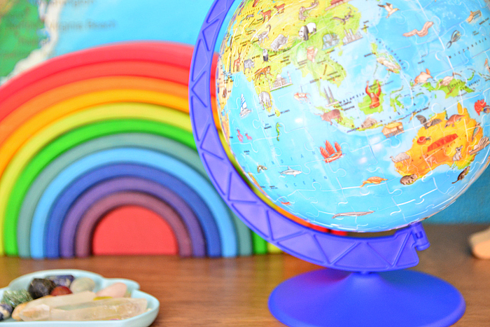 Ravensburger Puzzle Globe from Parents Direct at How we Montessori