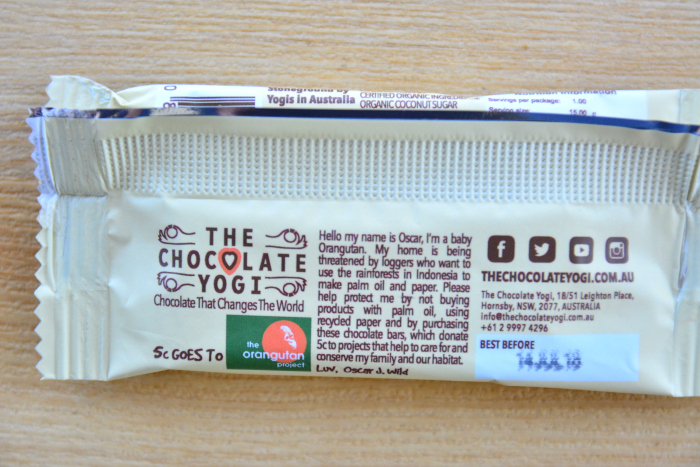The Chocolate Yogi - Oscar