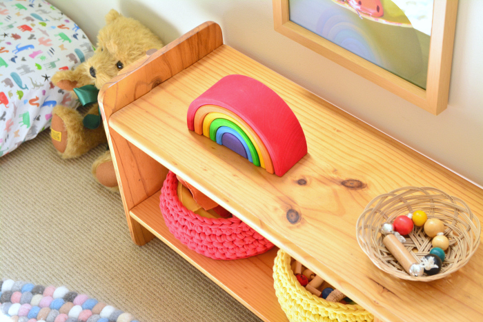 Otto's montessori room  with playgym