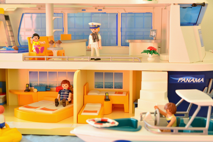 Playmobil Cruise ship at How we Montessori  educational benefits of using playmobil