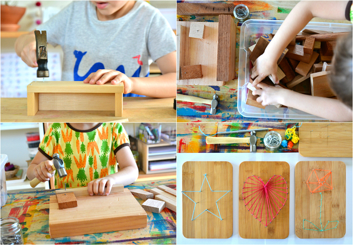 Woodworking Ideas at How we Montessori