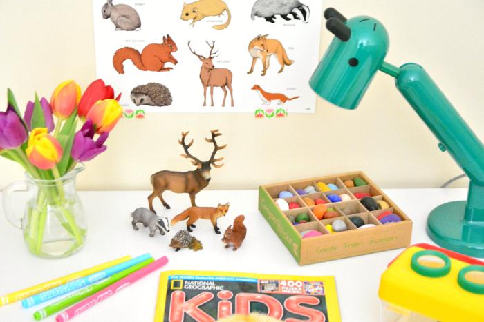 Otis'desk at How we Montessori