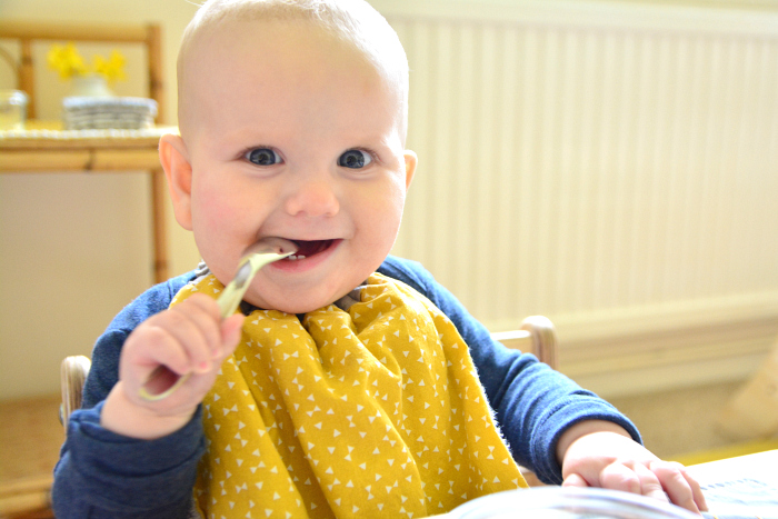 Ottos weaning set at six months at How we Montessori