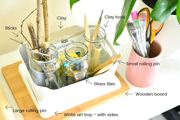 Clay materials at How we Montessori