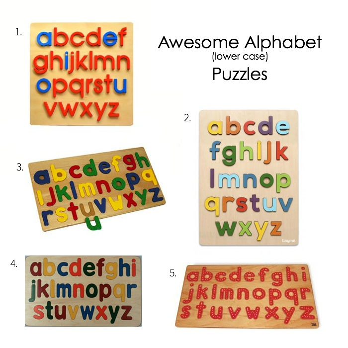 Montessori Awesome Alphabet Puzzles