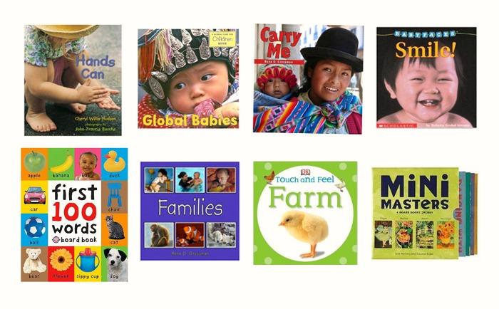 Books for Montessori Babies - Realistic, Photographic