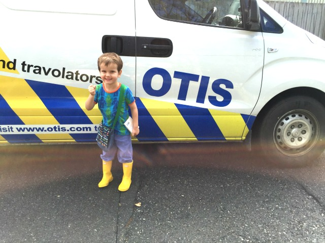 Otis with Otis van May 2015