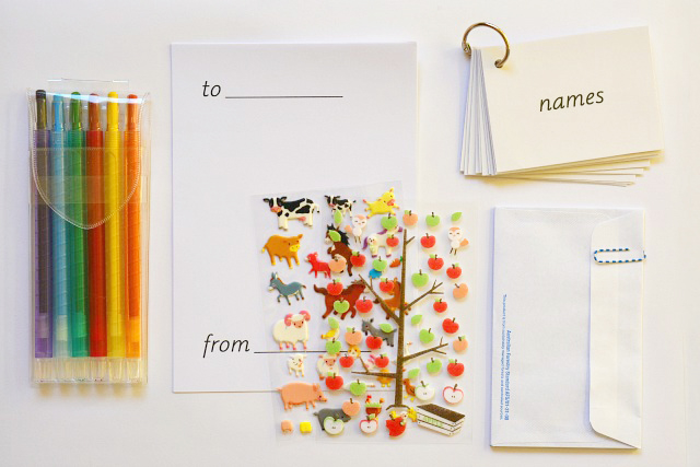 Montessori Child Letter Writing Set Materials at How we Montessori
