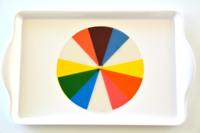 Colour Wheel at How we Montessori