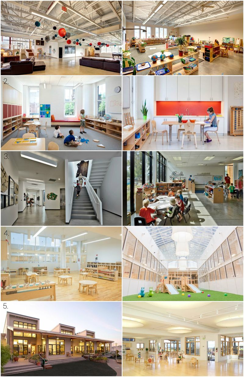 Great Design. Montessori Schools USA featured at How we Montessori