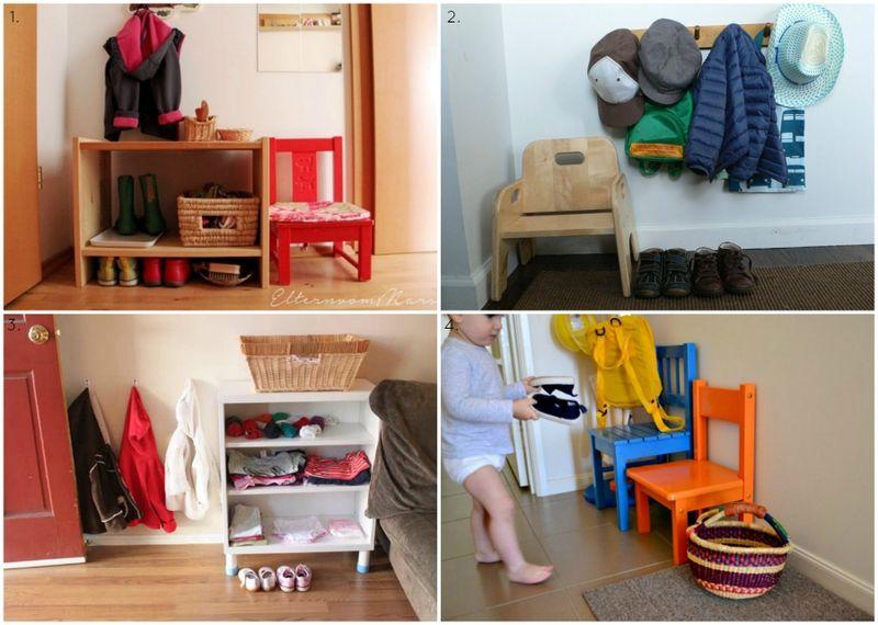 Ejemplos de entrada Montessori
