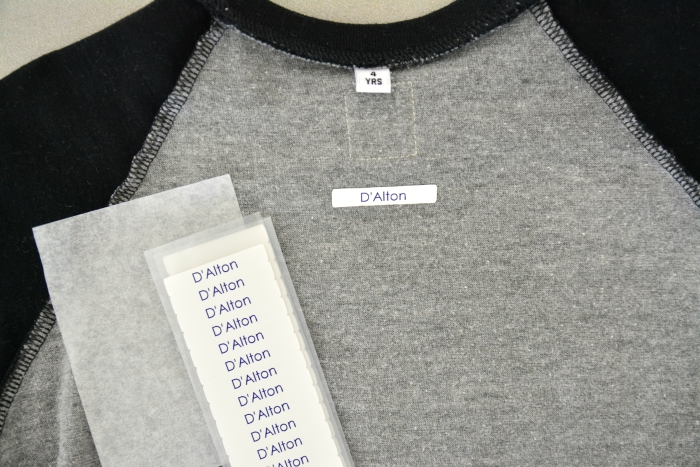Skool iron on name labels discount code giveaway voucher