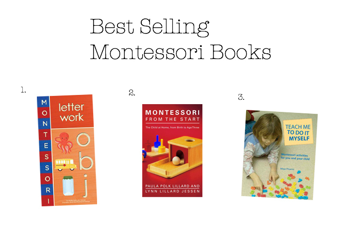 Best Selling Montessori Books 2015