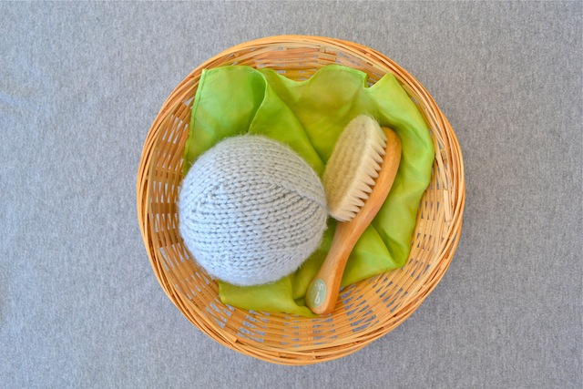 First Treasure Basket at How we Montessori