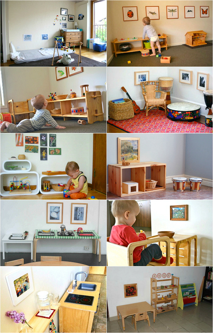 Montessori Tip- Hang Low Art Work