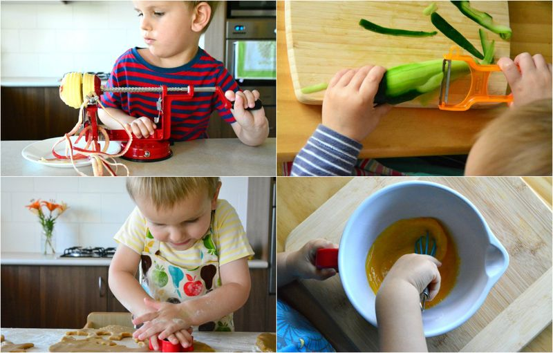 Toddlers in the kitchen part 4 at How we Montessori