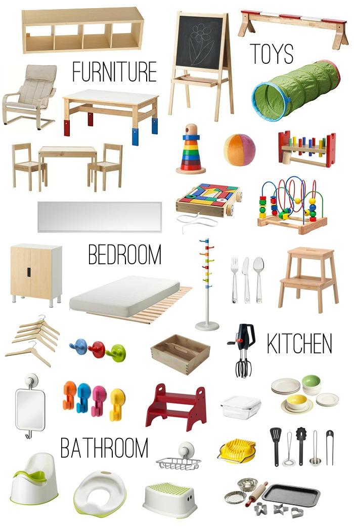 Montessori at Ikea at How we Montessori