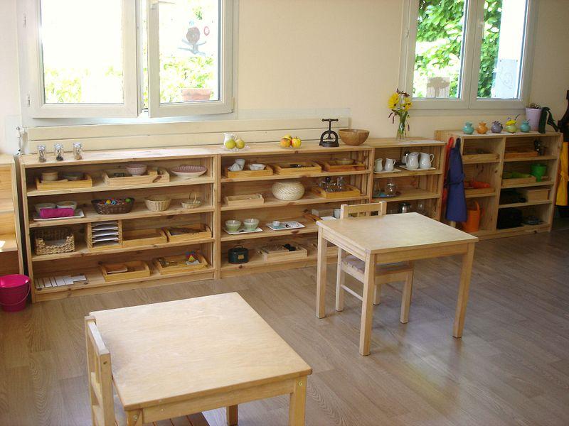 Montessori Classroom France Ecole Sainte Bazeille