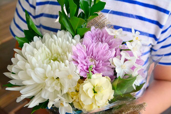 Caspar's flowers at HWM