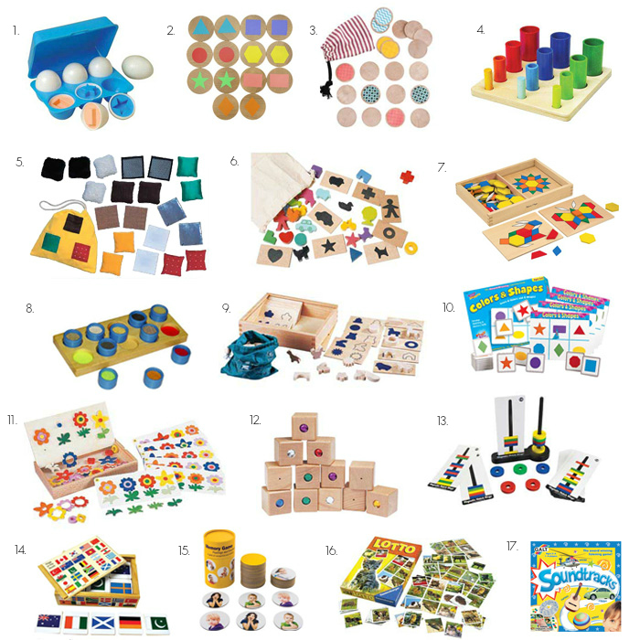 Montessori Matching Toys for children 2-4 years at How we Montessori
