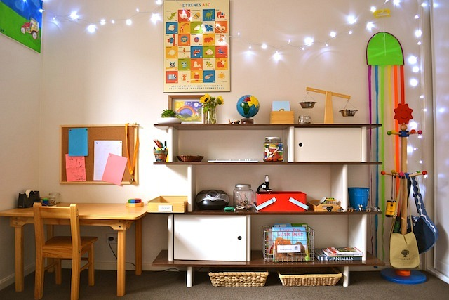 Caspar's Room at How we Montessori