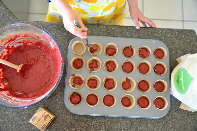 Otis making Muffins at HWM #2