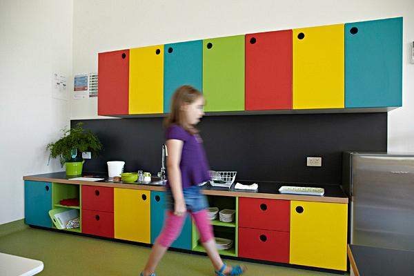Brunswick Montessori Children's House Kitchen via Content Studio
